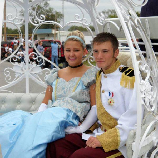 Cinderella and Prince Charming!